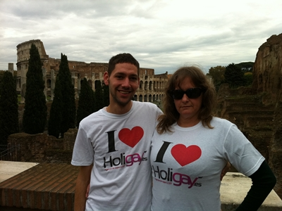 Crucero Gay Roma Coliseo Holigay