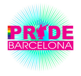 Logo gay pride barcelona holigay 2016